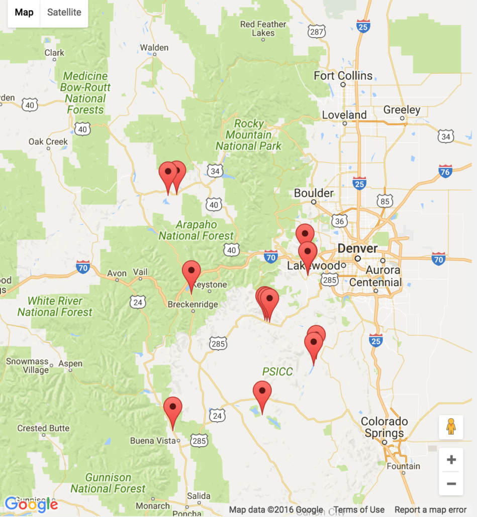 Popular 253 list colorado fishing map for Colorado fishing map