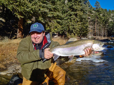 Colorado guided fly fishing trips gold medal waters for Colorado fishing guide