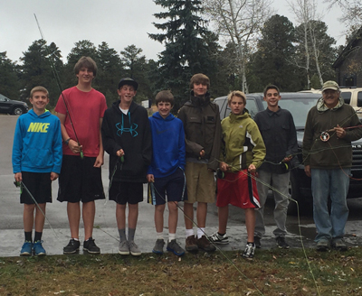 Colorado Kid's Fly Fishing Class with the Blue Quill Angler
