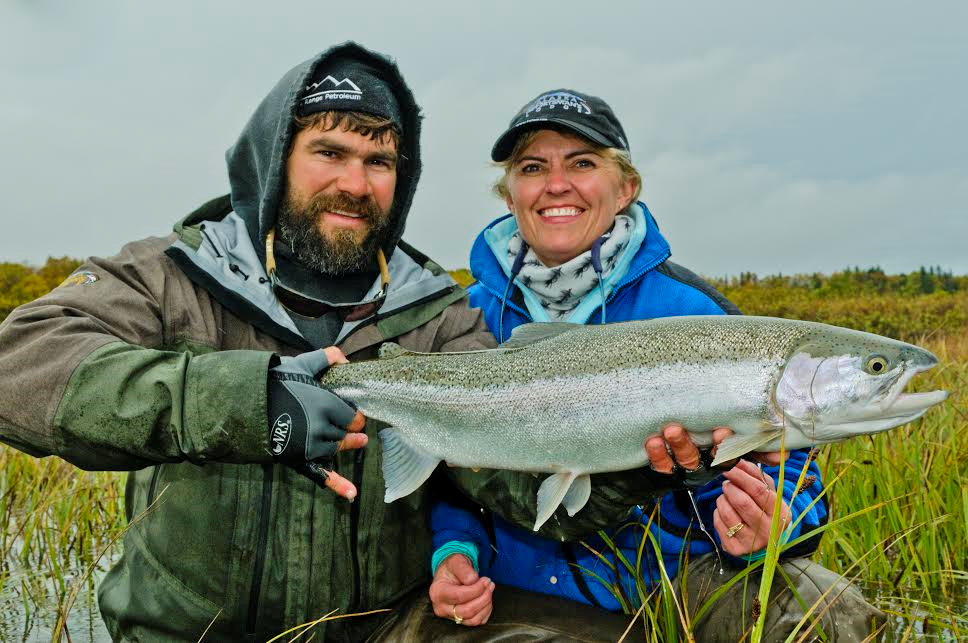 Fly Fishing at the Alaska Sportsman's Lodge with the Blue Quill Angler