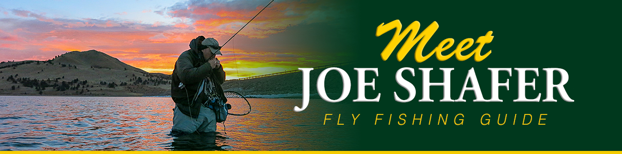 Meet Joe Shafer - Fly Fishing Guide at The Blue Quill Angler