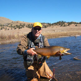 Colorado Guided Fly Fishing Trips - Spinney Mountain Ranch, The Dream Stream