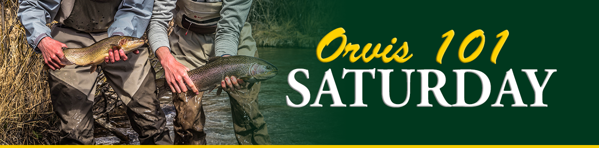 Free Orvis 101 Saturday Fly Fishing Classes