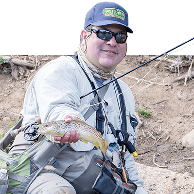 Jerry Vigil - Fly Fishing Guide in Colorado
