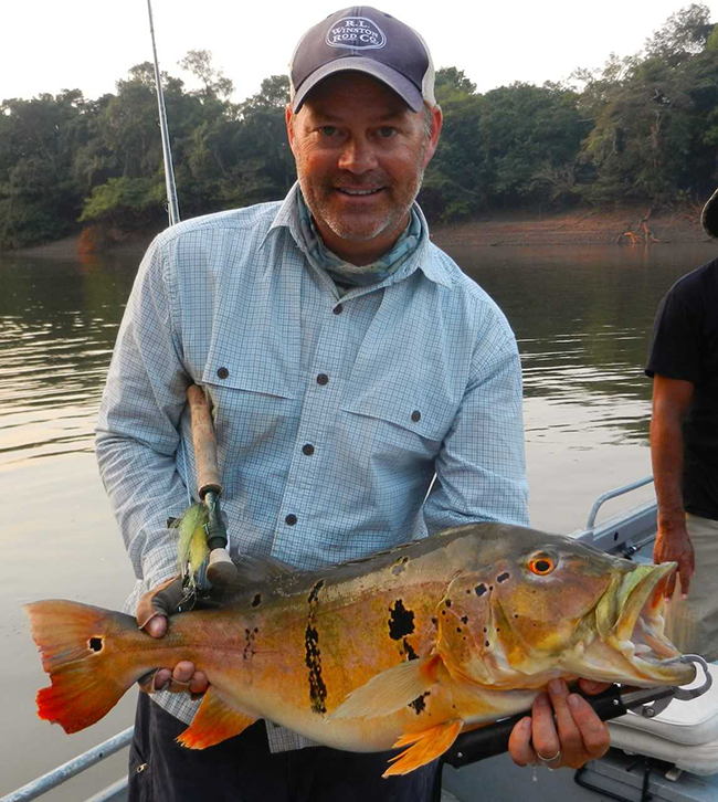 Guided Fly Fishing in Brazil