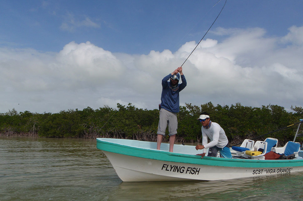 Float Fishing - Palometa Club Destination Trip Fly Fishing with the Blue Quill Angler