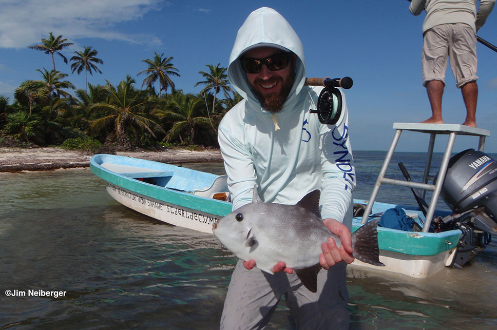 Beautiful Catch - Palometa Club Destination Trip Fly Fishing with the Blue Quill Angler