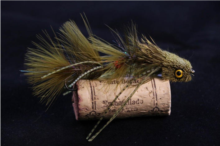 Custom Fly Fishing Streamer from the Blue Quill Angler